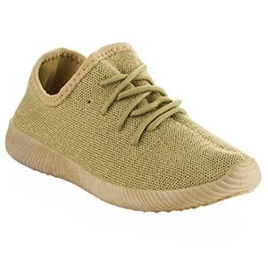 Light Olive Fashion Sneakers